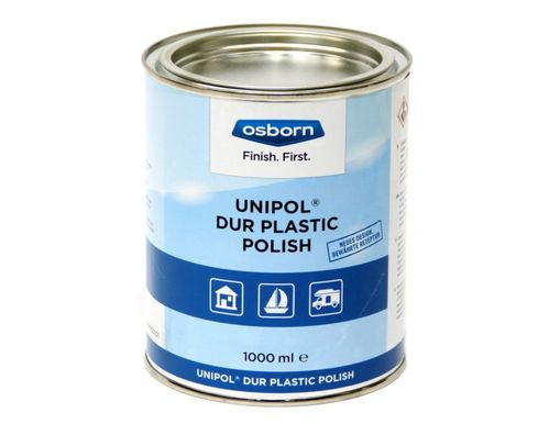 DUR-PLASTIC POLISH Polishing Paste Superfine 1000g Tin for Plastics, Acrylics, Plexiglass