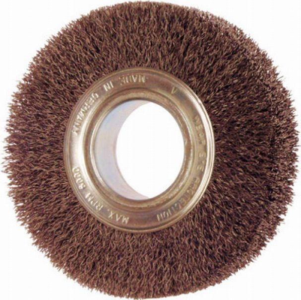 Disc Brush 178x30 D38 Bore50,8 Steel Wire 0.30 crimped Deburring Brush
