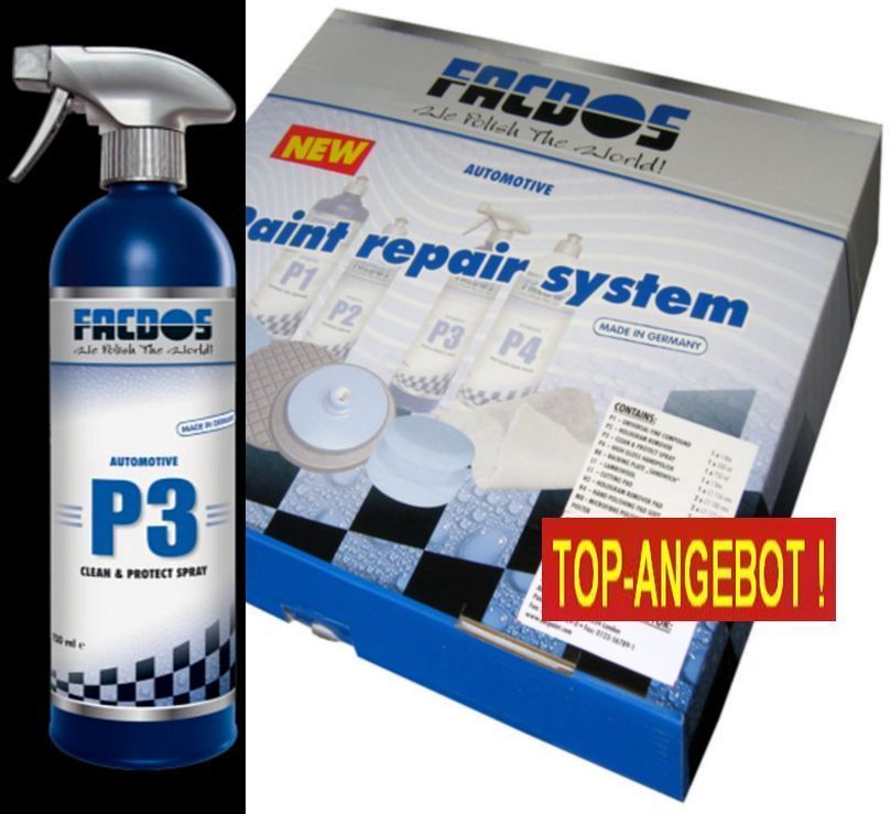 FACDOS P3 Clean & Protect Spray 750 ml Paint Cleaner & Sealer
