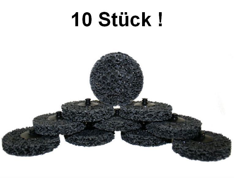 10x ROLOC Nylon Mesh Abrasive Disc D = 50mm COARSE BLACK