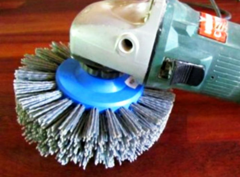 Information Abrasive Nylon Disc Brush