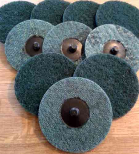 10x ROLOC Abrasive Mesh Disc D = 50mm MEDIUM