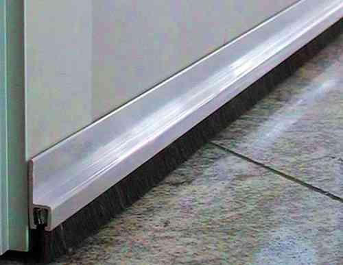 1m Aluminum Profile Type15A with NYLON PA6 Treat BH12 TotalHeight TH27