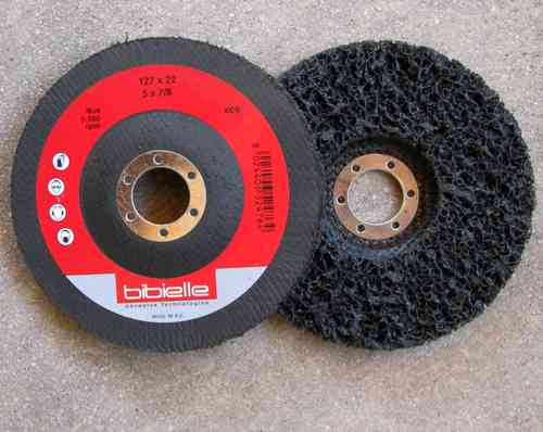 10x CSD Abrasive Clean & Strip Disc 127 x 22,2 mm COARSE Grinding Disc