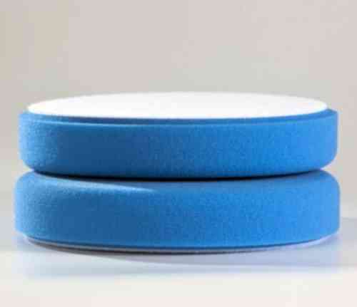 POLISHING FOAM DISC 150 x 25 mm BLUE VELCRO Backing Paint-Polish