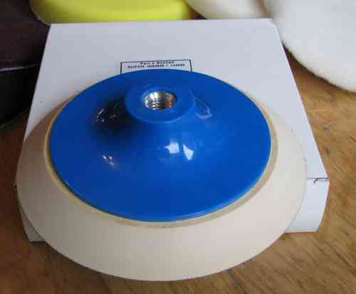 156mm Velcro Backup Disc foamed M14 connection