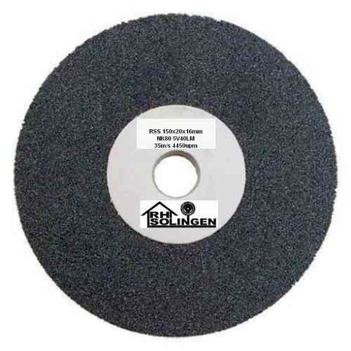 Grinding Wheel D 200 x 20 mm Bo 32 (20/16) mm Grit 80 Medium