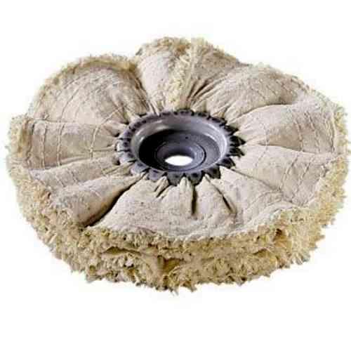 Sisal-Canvas-Tissue-Disc D 200 x 20 Bore 14 mm 4-layers Prepolish