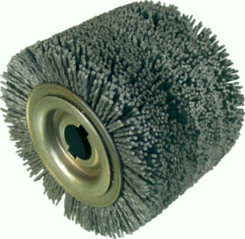 FLEX Abrasive Roller Brush 100x70 Abrasive Nylon Grit 80 Bore19mm Wood Working