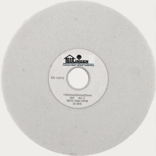 Grinding Wheel D 150 x 20 mm Bo 32 (20,16/14/13) mm White Grit 280 MEDIUM FINE
