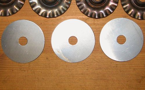 10 Steel Distance Wheels 50x1 bore 10mm for WILA,PRIMUS,ROTTI and other Grinding Wheel Trimmers