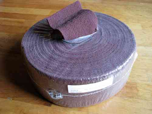 Abrasive Mesh Roll 115mm x 10m Coarse Grit 60-80