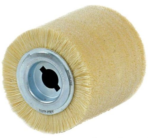 FLEX Roller Brush 100x100 Bore19mm FIBRE Wood Working Dying Oiling