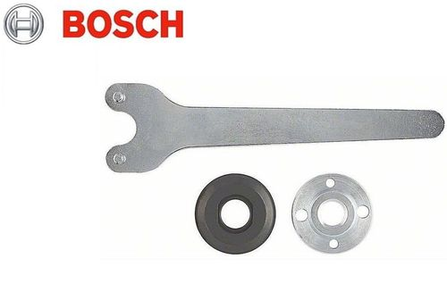 BOSCH Set 22,2mm Disc & Pressure Nut + 2 pin Key