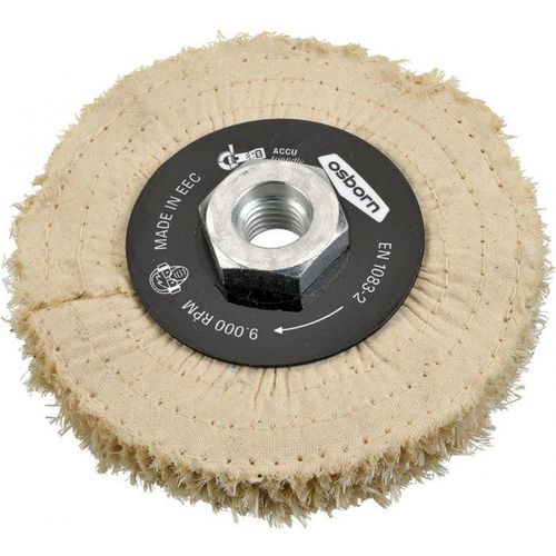 Sisal-Canvas-Tissue-Disc D 100 x 20 M14x2 4-layers Pre polish Angle Grinder