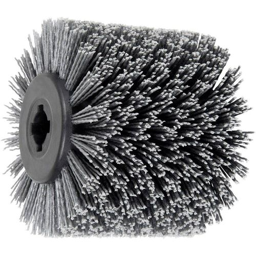 FLEX Abrasive Roller Brush 100x100 Abrasive Nylon Grit 80 Bore19.1mm Wood Working